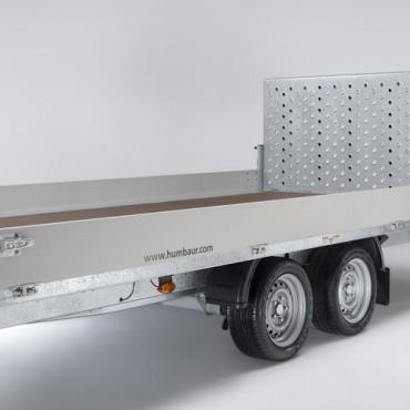 Humbaur MTK kiepbare voertuigtransporter div.afmetingen