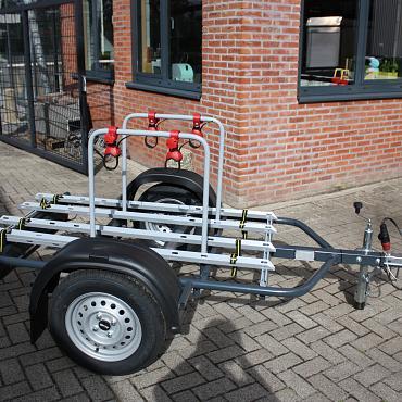Fietsen aanhangwagen/ Fietstransporter ongeremd