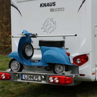 Dynad/Linnepe Scout scooter/fietsendrager