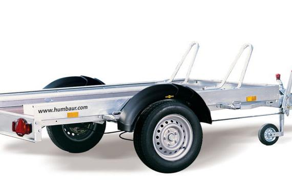 Humbaur HM Motortransporter 209x136x7cm/750/1000kg