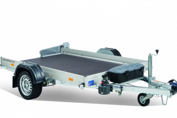 Humbaur HKT verlaagbare voertuigen transporter div.afmetingen