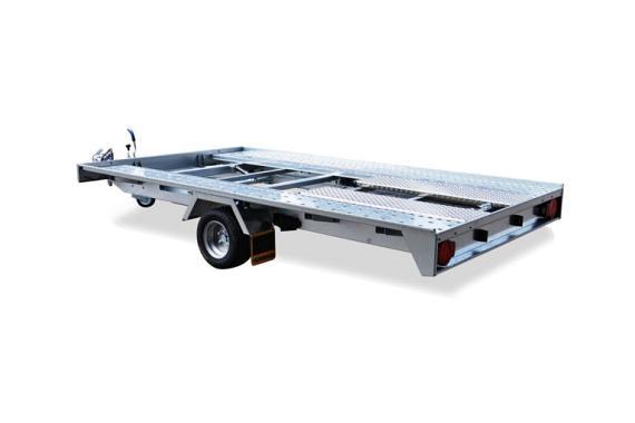 Humbaur FTK voertuig transporter kiepbaar div.afmetingen