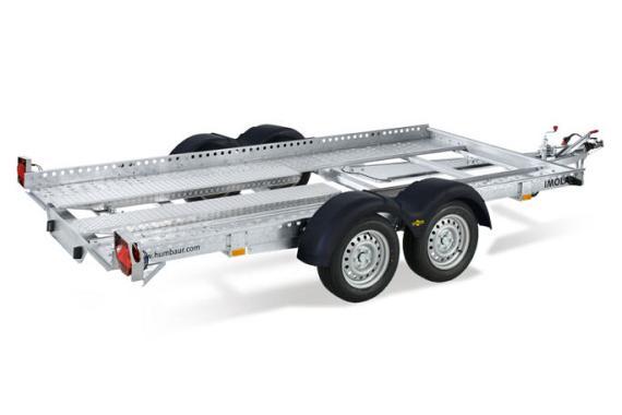 Humbaur HAK voertuig transp. bak tussen de wielen div.afmetingen