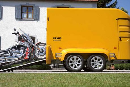 Humbaur Rexus voertuig transporter vol polyester 325x150x180cm/2000kg