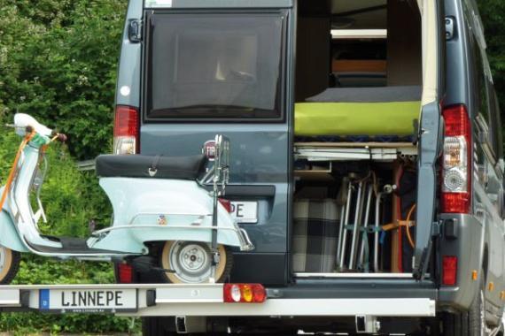 Dynad/Linnepe Slideport scooter/fietsen drager