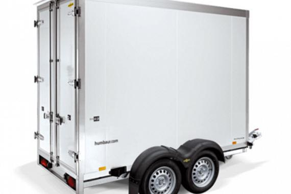 Humbaur TK Vrieswagen 2-as 308x163x222cm 2500kg