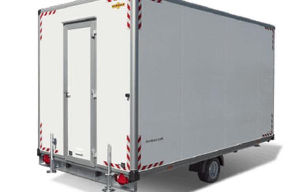 Humbaur Schaftwagen 1-as 419x213x228cm 1500kg
