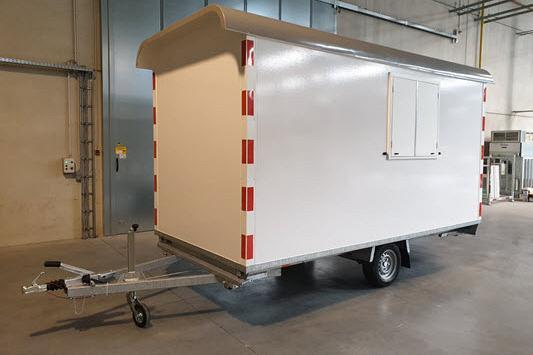 Anssems Schaftwagen PTS 1as 390x188x211cm 1400kg