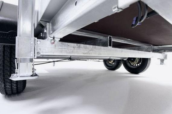 Humbaur HKBasic Koelwagen 2-as 318x173x188cm 2500kg