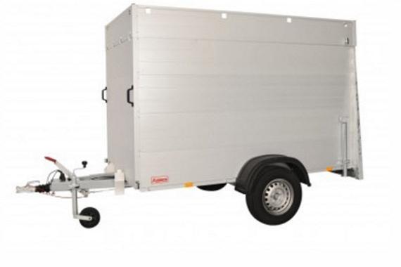 Anssems Bagagewagen GTB1200VT3 geremd  251x126cm/1200kg
