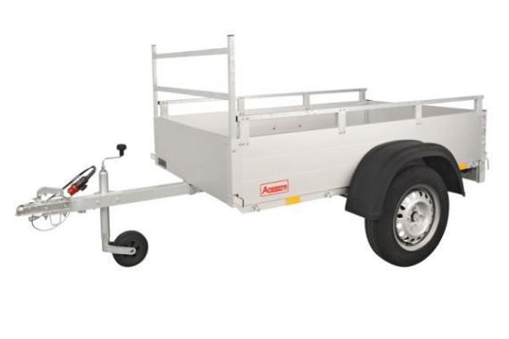 Anssems Bagagewagen GTT2500VT4 geremd  301x151cm/2500kg
