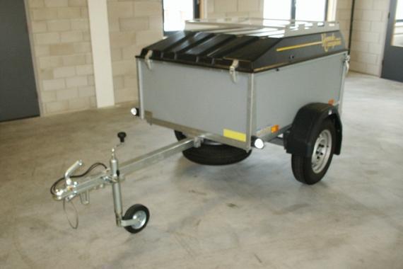 Saris bagagewagen RT500 154x103x64 (9907)