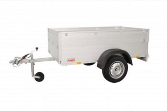 Anssems Bagagewagen GT750-211HT 1as onger.  211x126x48cm/750kg
