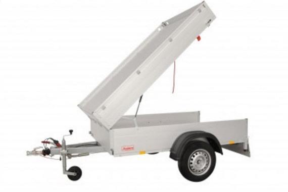 Anssems Bagagewagen GTB750-211HT 1as rem 211x126x48cm/750kg