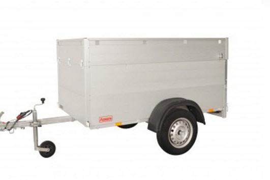 Anssems Bagagewagen GT500-181VT1 1as onger. 181x101x83cm/500kg