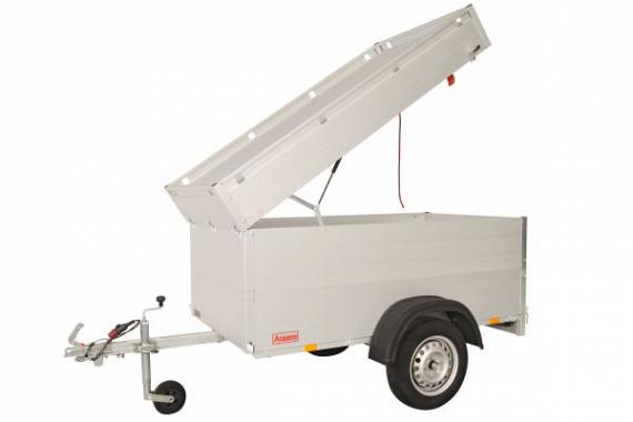 Anssems Bagagewagen GTB750-211VT1 1as rem  211x126x83cm/750kg