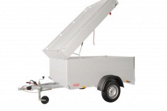 Anssems Bagagewagen GTB1200-251VT1 1as rem  251x126x83cm/1200kg