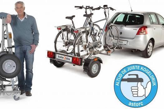 Fietsen aanhangwagen huren 2 fietsen