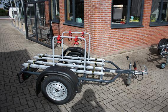 Fietsen Aanhangwagen 4x fiets