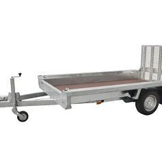 Hulco kl.mach.aanhanger TERRAX1-1800 basic 1as rem 294x150cm 1800kg