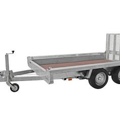 Hulco kl.mach.aanhanger TERRAX2-2600 basic 2as rem  294x150cm 2600kg
