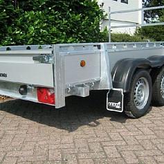 Henra bakwagen BA202513 2as geremd 257x135 cm 2000kg
