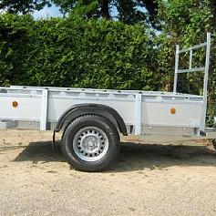 Henra bakwagen BA103013 1as ongeremd  307x135 cm 750kg