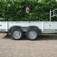 Henra bakwagen BA203013 2as geremd 307x135 cm 2000kg