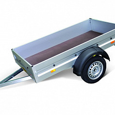 Humbaur Startrailer 1as ongeremd 205x110x30cm 750kg