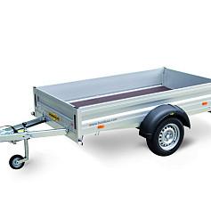 Humbaur HA Alu 1as ongeremd 165x110/131x35/50cm 750kg