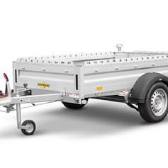 Humbaur HA allrounder Alu 1as geremd 251x131x41cm 1300kg