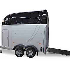 Humbaur Single 1.5 paards aluminiumtrailer