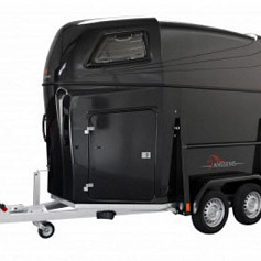 Anssems PTH2000 Excellente 2prds zwart metallic 331x166x200cm 2000kg