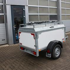 Twinark Bagagewagen met 2 fietsendrager 175x100x60 (9909.20)