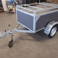 Economyline Zaragossa met  2 fietsendragers 150x100x60 (9933.20)