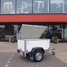 Economy Line Bagagewagen 1-as ongeremd 150x100cm/750kg