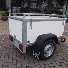 Economy Line Bagagewagen 1-as ongeremd 175x100cm/750kg