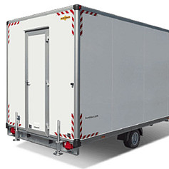Humbaur Schaftwagen 2-as 419x213x228cm 2000 kg
