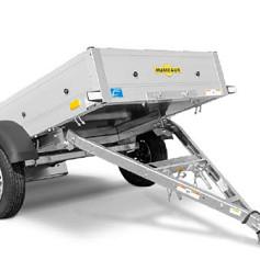 Humbaur Startrailer DK 1as ongeremd 205x110x30cm 750kg