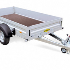 Humbaur HA Alu 2as geremd 303x150x35cm 2000/2500kg