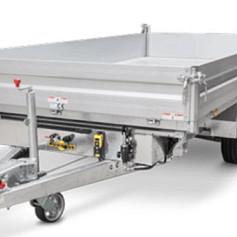 Humbaur HTK 3-zijdige kipper 410x210x35cm 3000/3500kg
