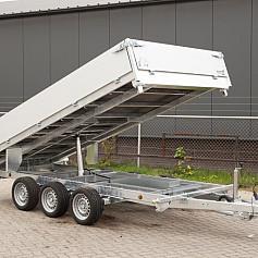 Henra kipper KP354020TR 3-zijdig 401x202cm 3500kg
