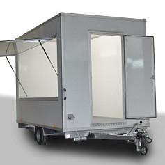 Economy verkoopwagen DT3-57 1as geremd 357x200x230cm 1300kg