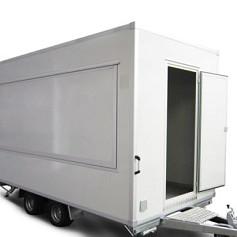 Economy verkoopwagen DT4-20 2as geremd 420x200x230cm 2000kg