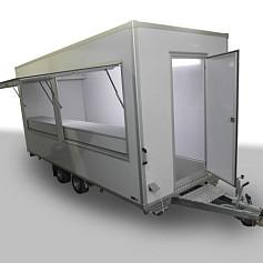 Economy verkoopwagen DT5-11 2as geremd 511x200x230cm 2500kg