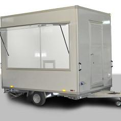 Economy verkoopwagen DT2-50 1as geremd 250x220x230cm 1300kg