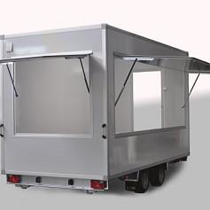 Economy verkoopwagen DT4-20 2as geremd 420x220x230cm 2500kg
