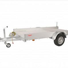 Anssems Autotransporter AMT1200 1-as geremd 340x170cm/1200kg