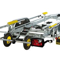 PEGA boottrailer voor motorboten