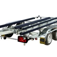 PEGA boottrailer voor waterskiboten